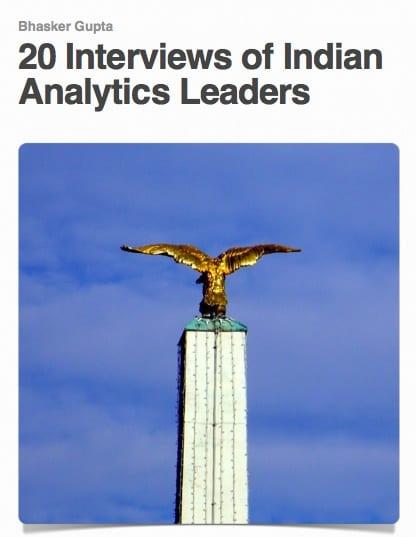 eBook - 20 Interviews of Indian Analytics Leaders (Free Download)