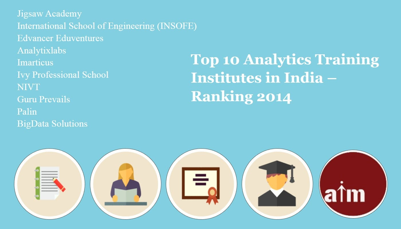 Top 10 Analytics Training Institutes In India Ranking 2014