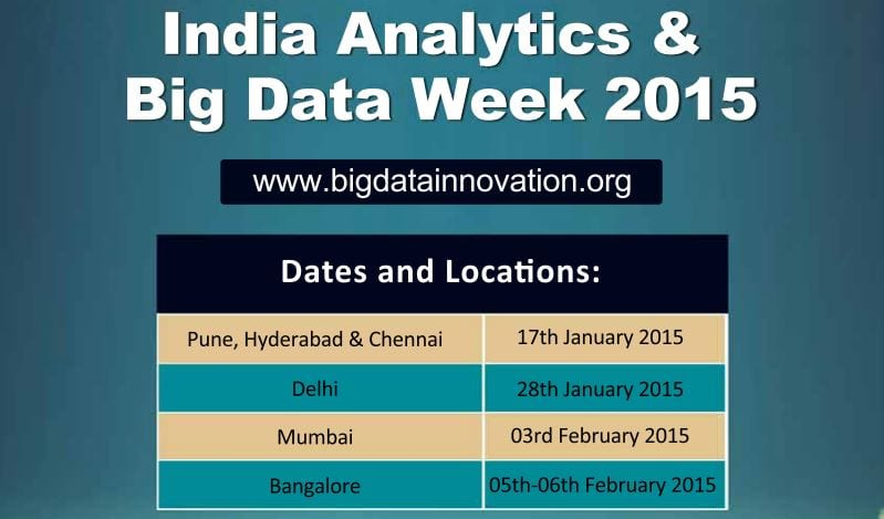 India analytics and big data week