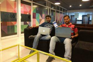 Gazematic Founders Karthikeyan & MSMohanraj