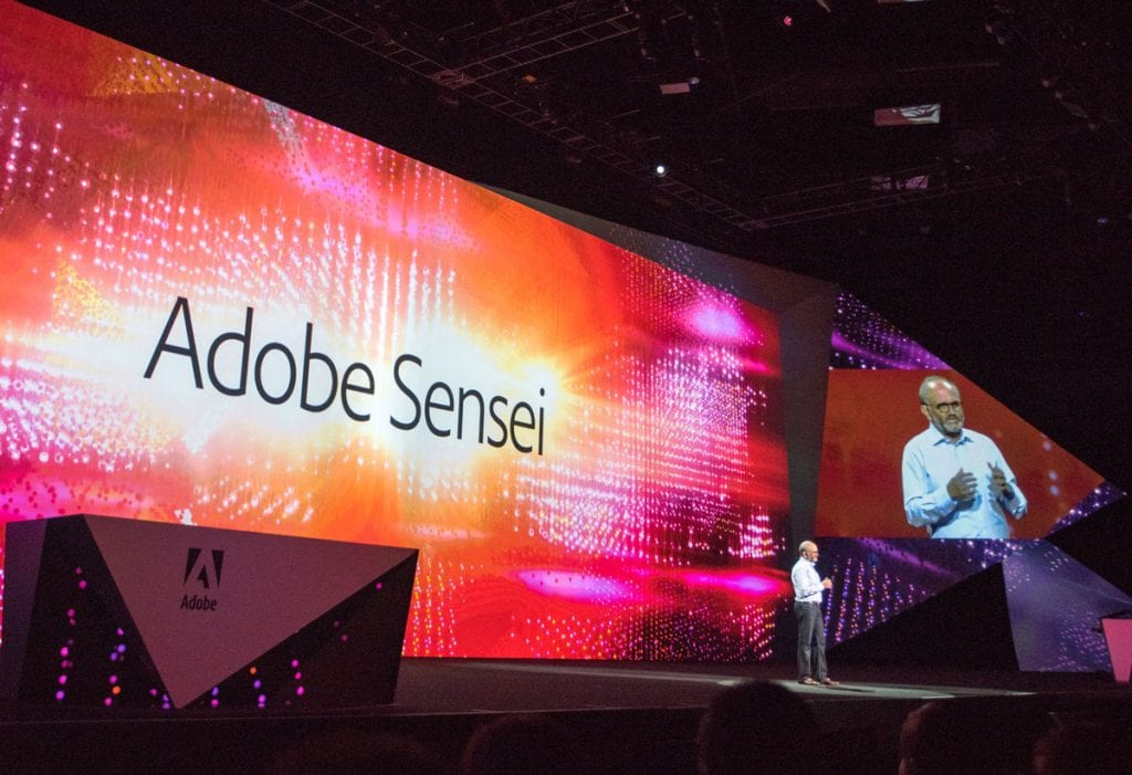 Adobe CEO Shantanu Narayen at the well-received Adobe Max 2016