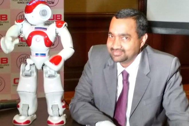 Lakshmi Banking Robot