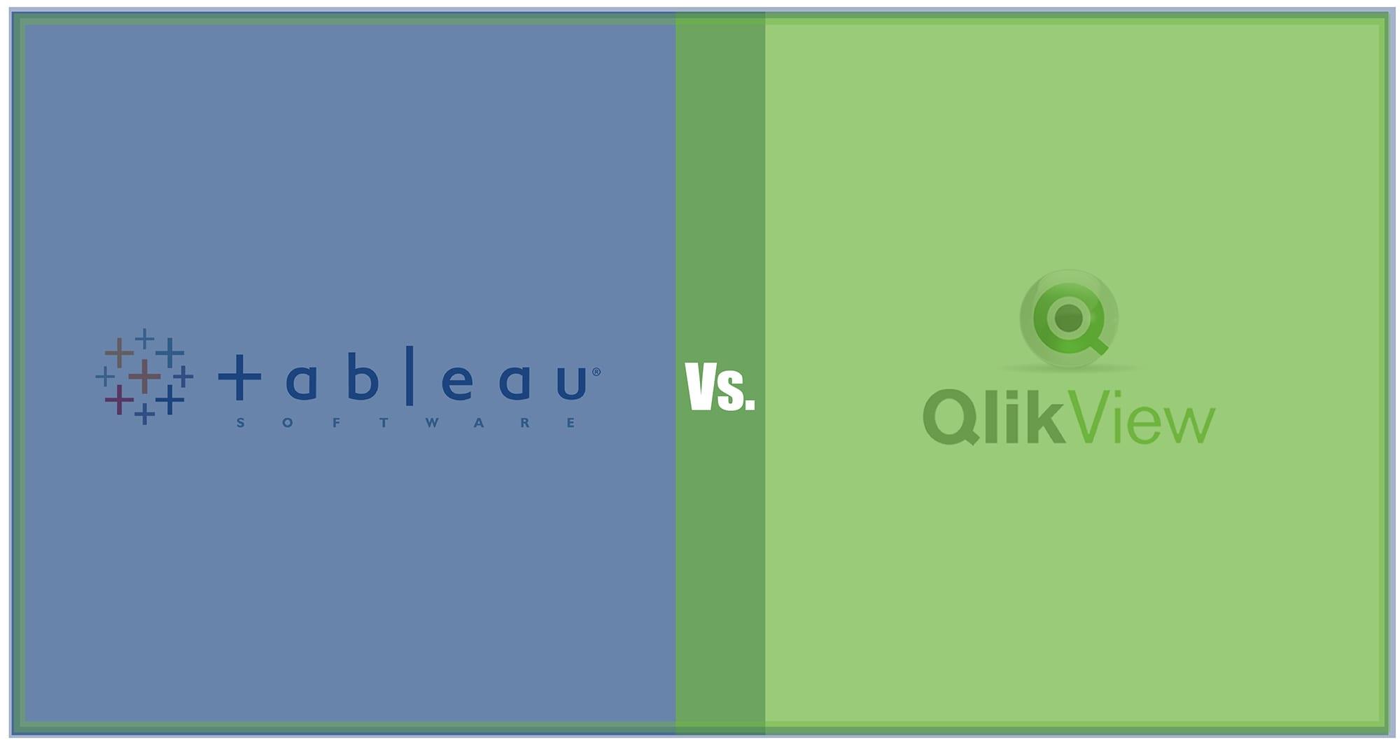 Tableau vs Qlik: Comparing Data Visualization tools Tableau and QlikView