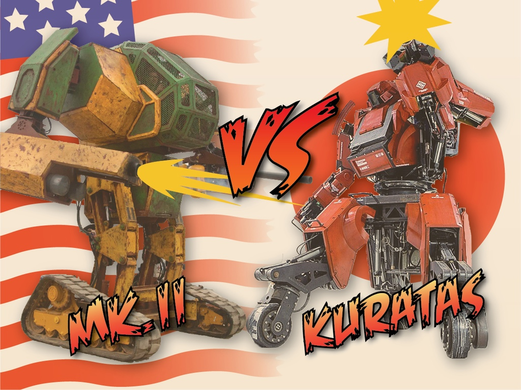 Humanoid robots from Japan & US to battle for supremacy