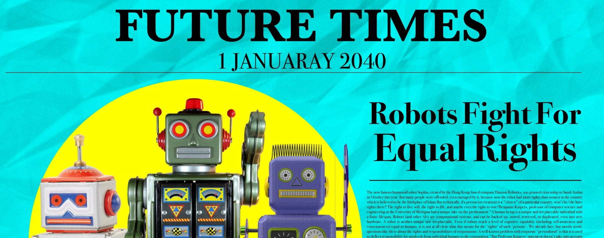 robot future small