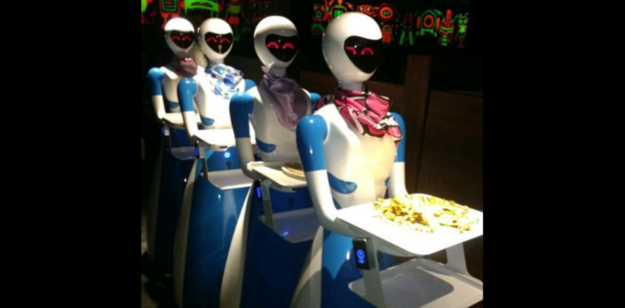 robot chennai restaurant