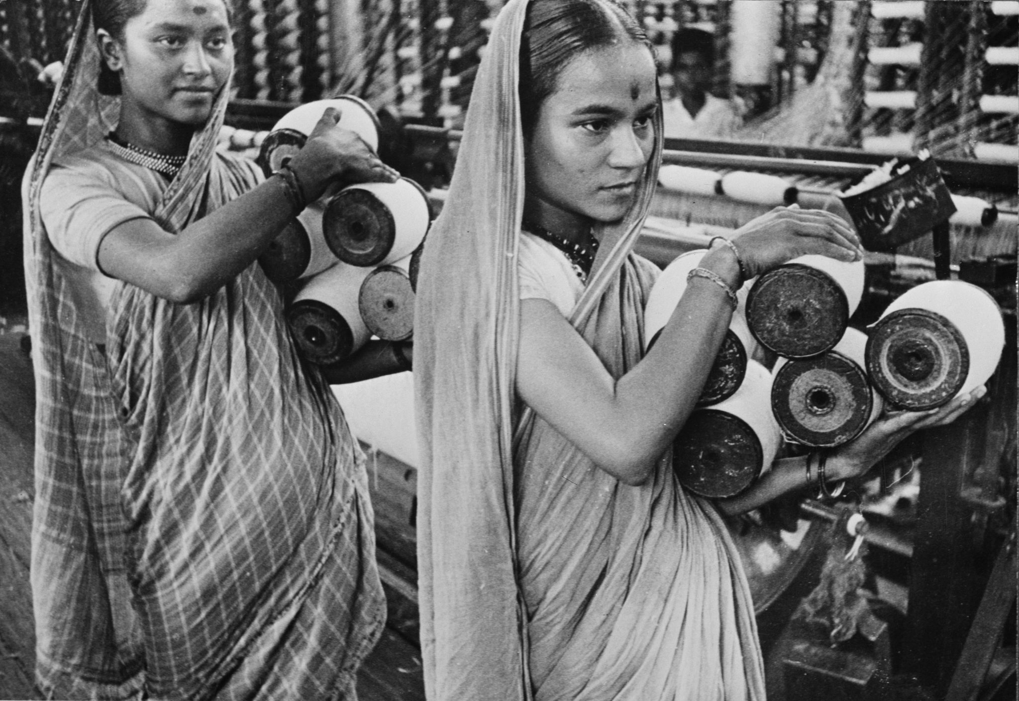 textile workers india