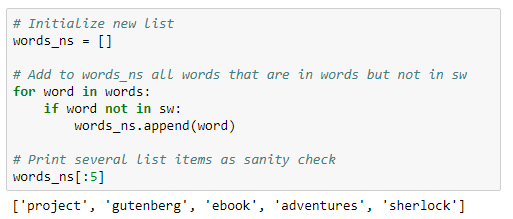 Using Natural Language Processing To Check Word Frequency In 'The