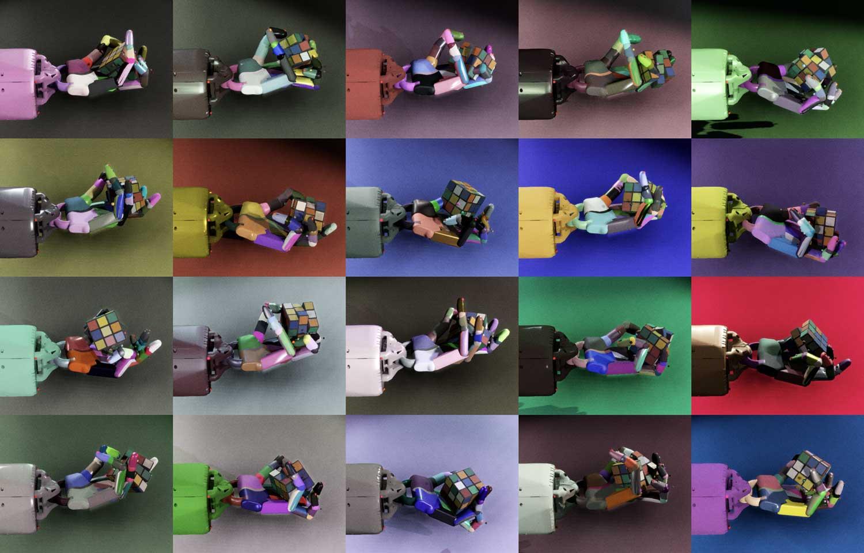 OpenAI's robot solved Rubik' cube