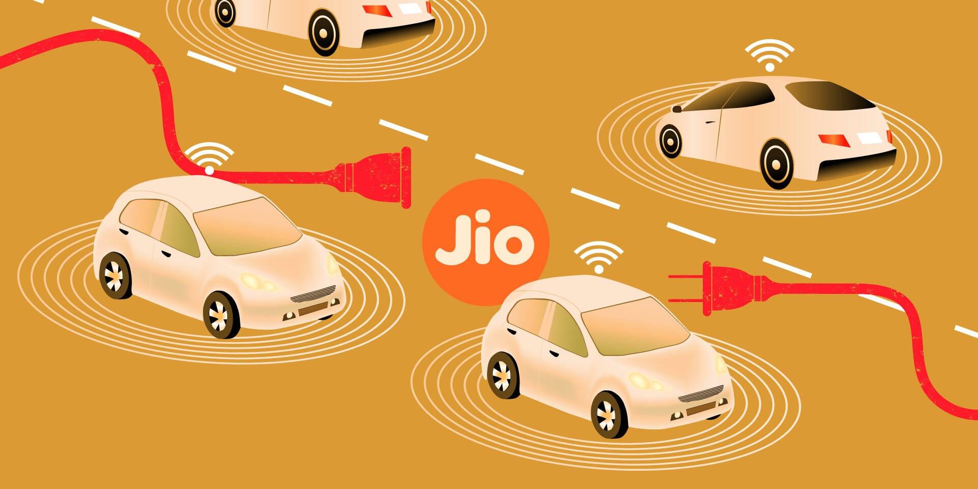 Jio Connected Car Auto Expo