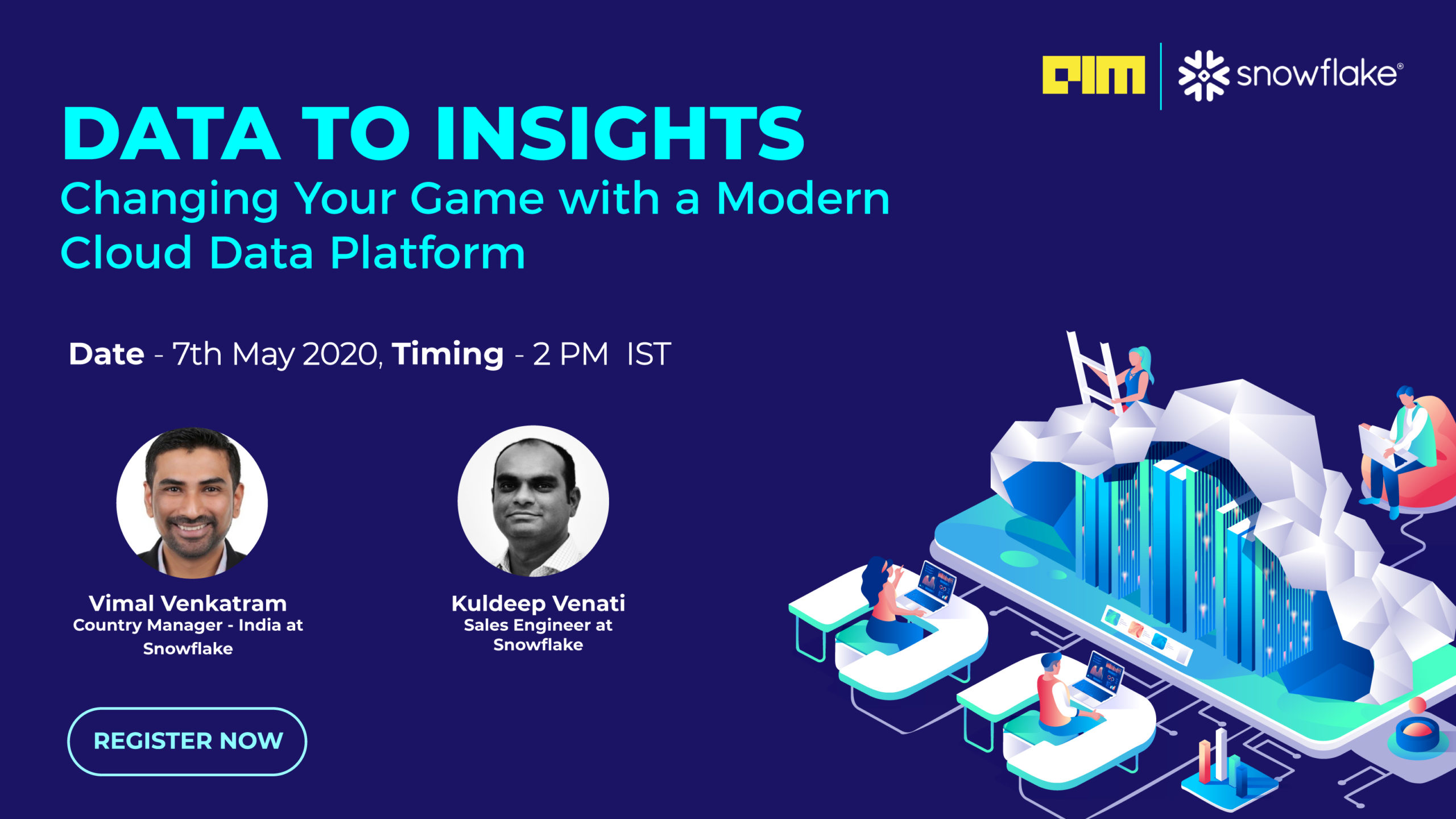 Attend This Webinar To Enhance Your Knowledge On Modern Cloud Data Platform