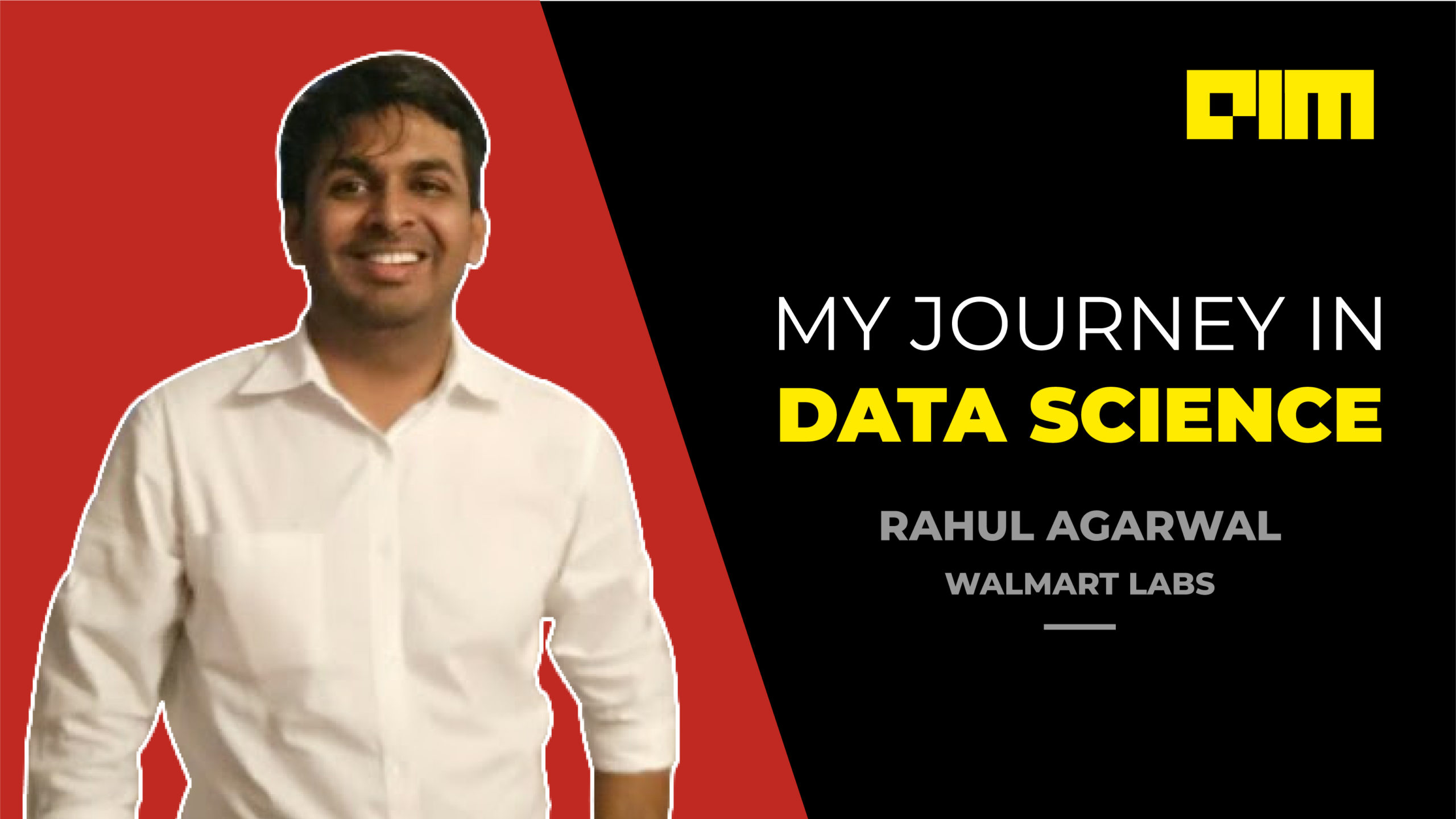 My Journey In Data Science with Rahul