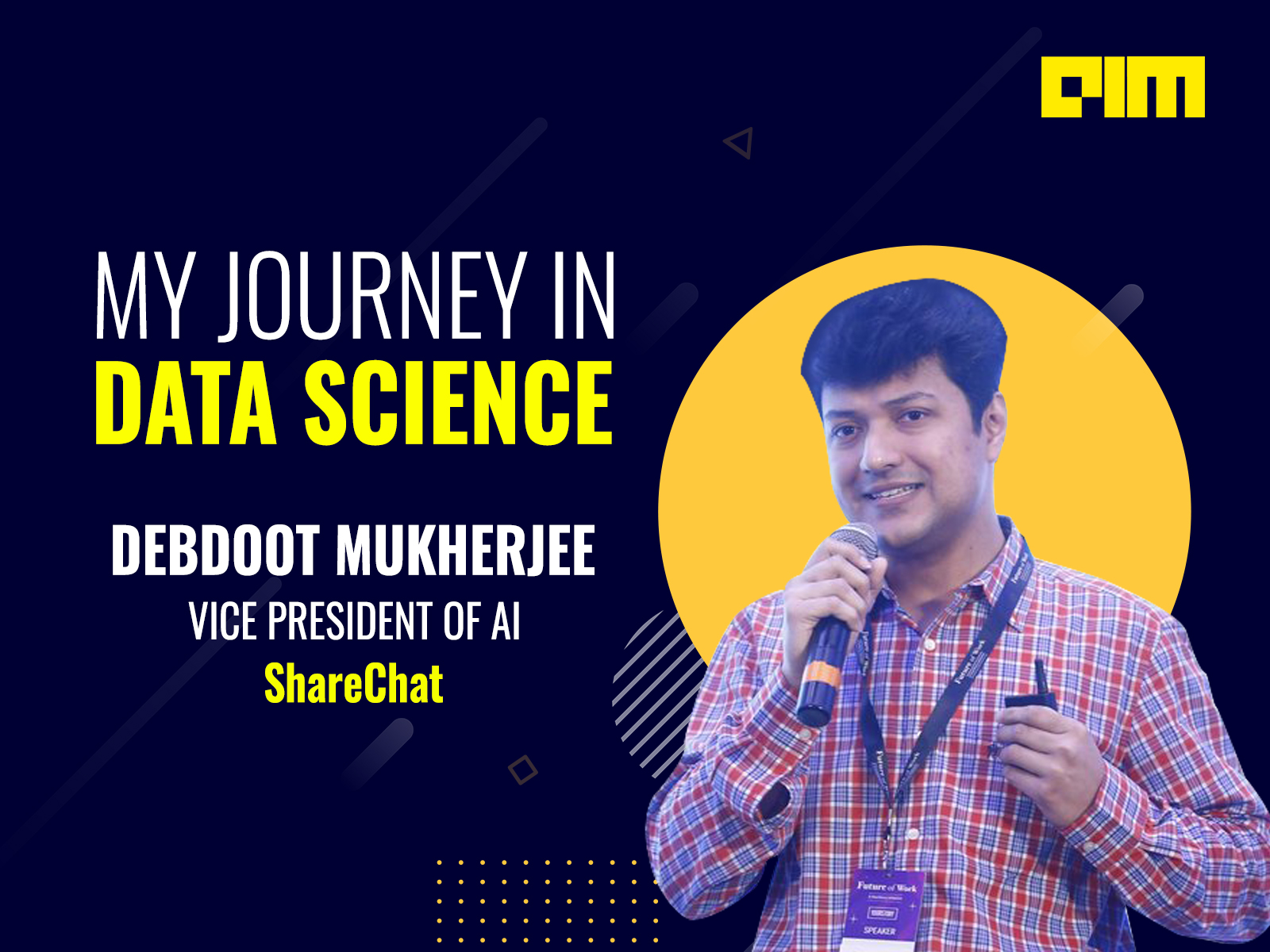 My Journey In Data Science With Debdoot