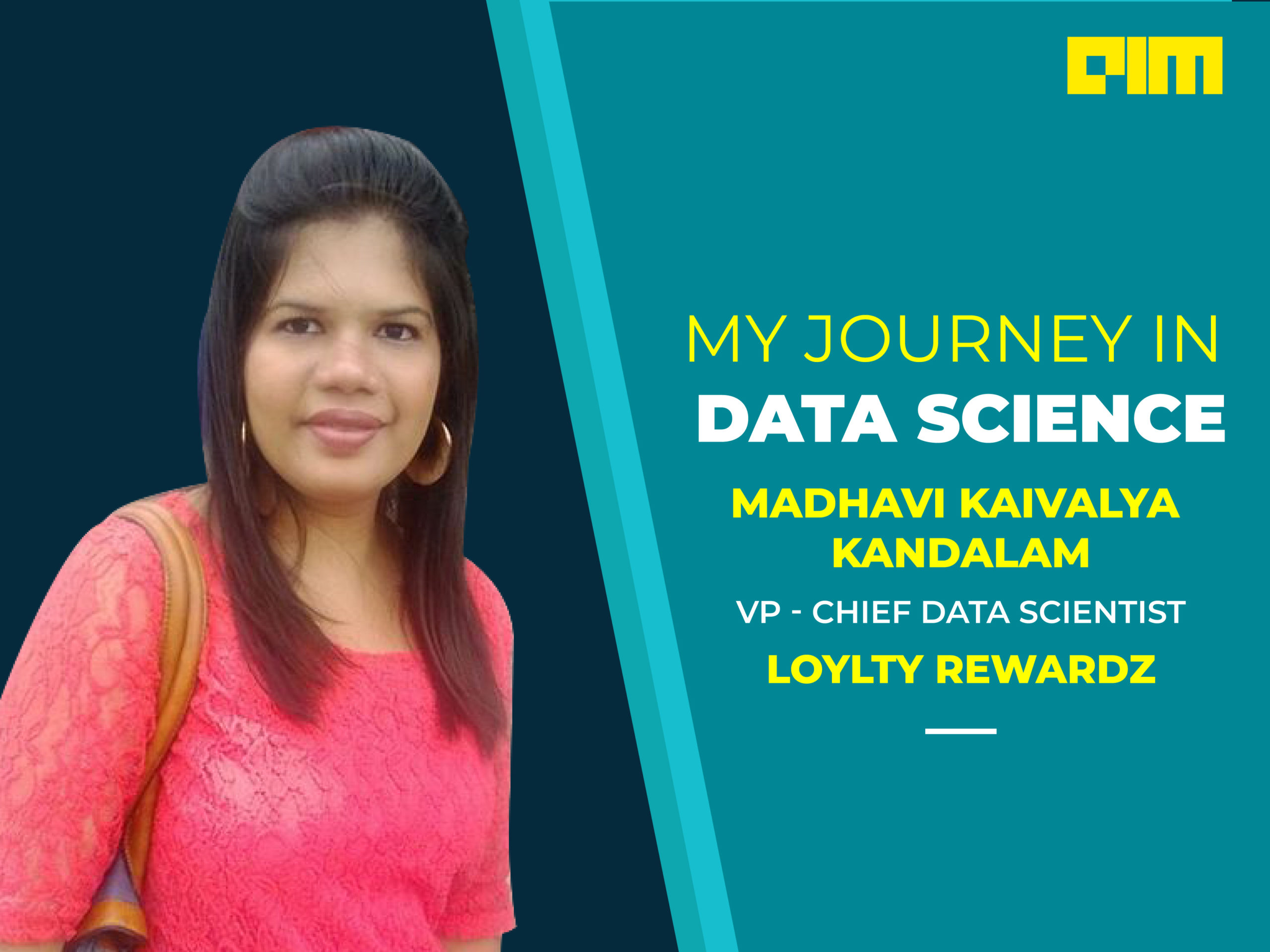 Madhavi Data scientist