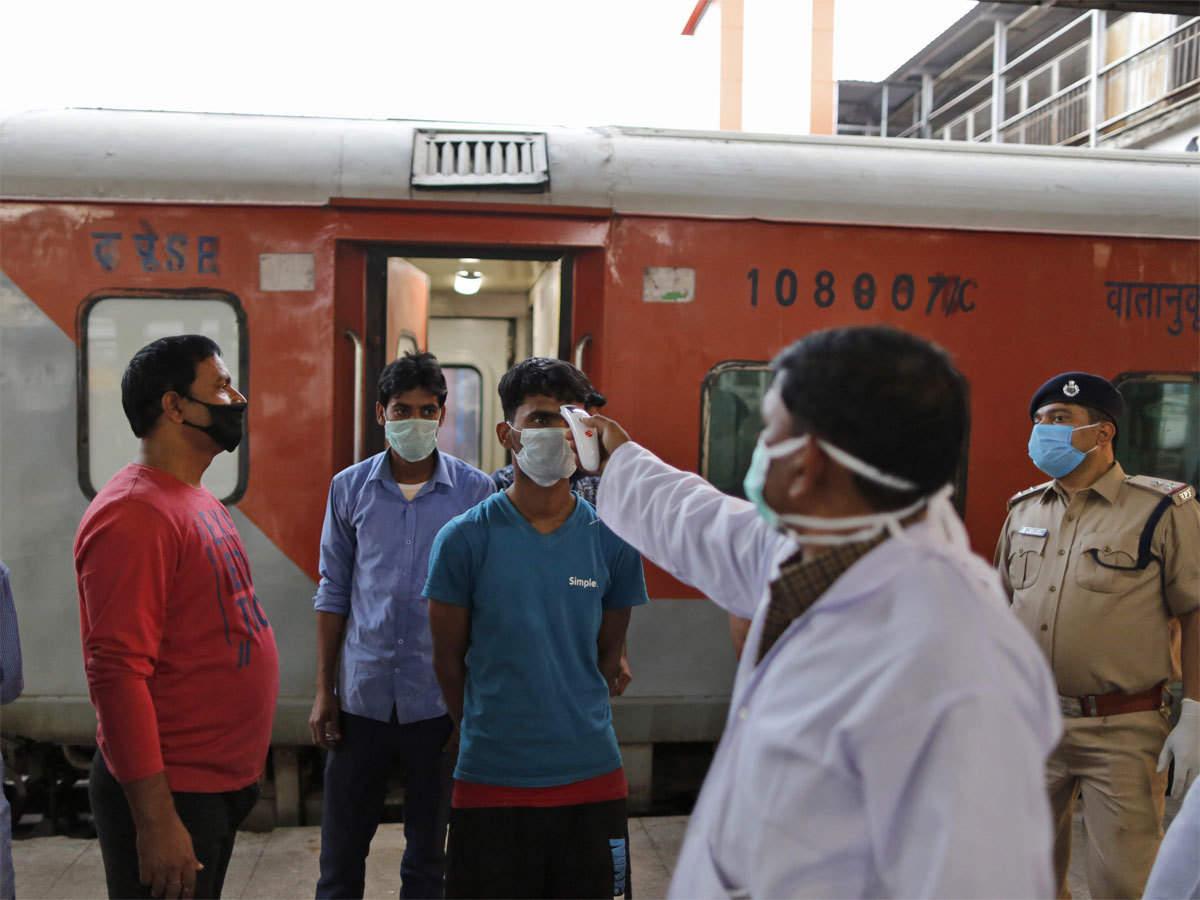 Thermal Screening At Railways