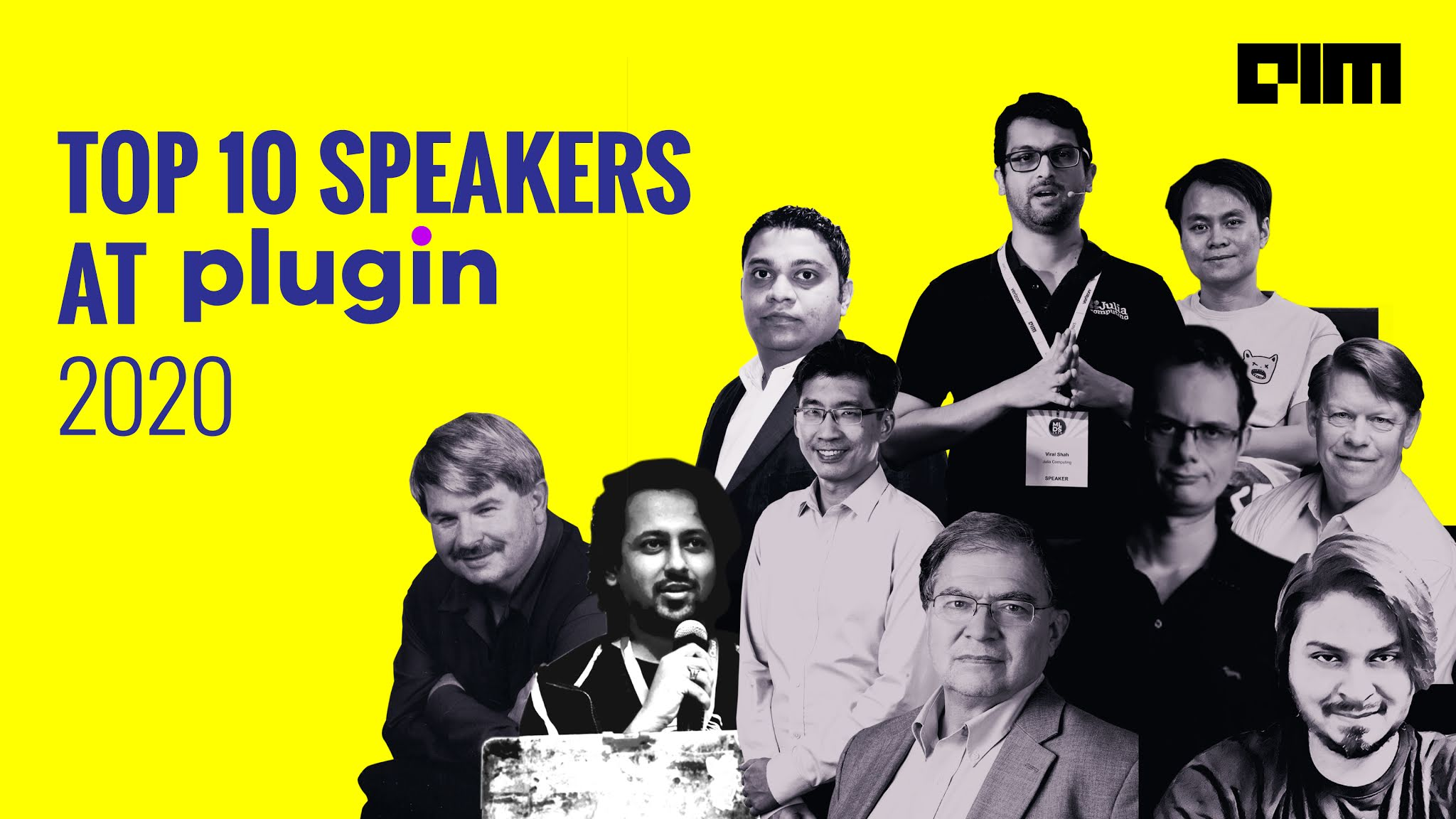 Top 10 Speakers At Plugin 2020