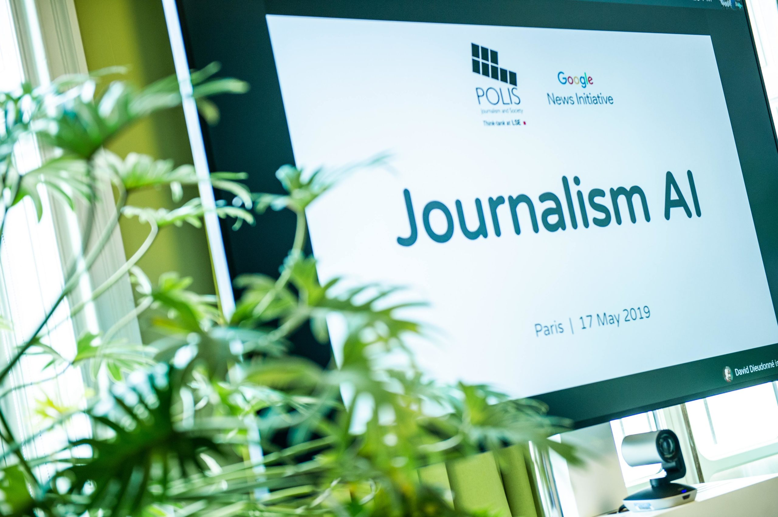Journalism AI Google