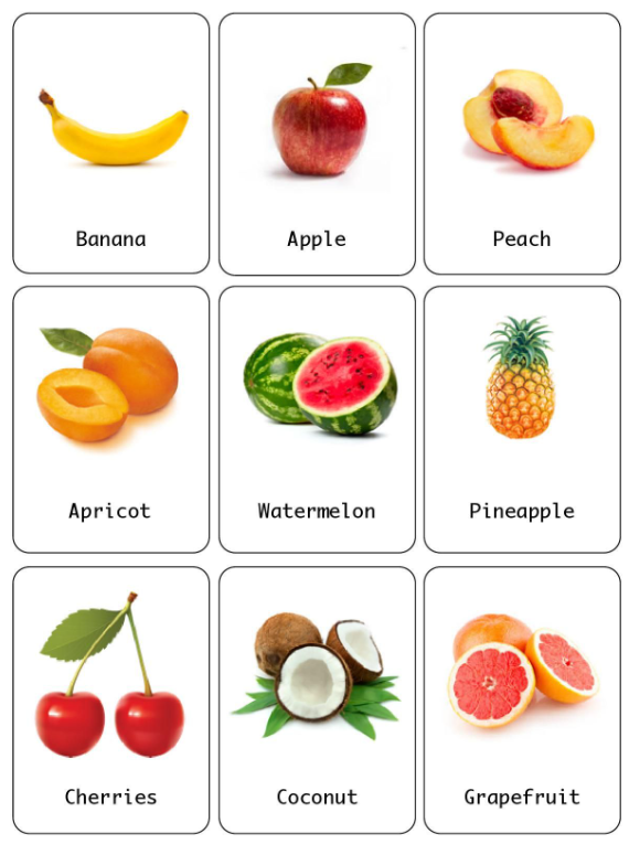 fruit recognition