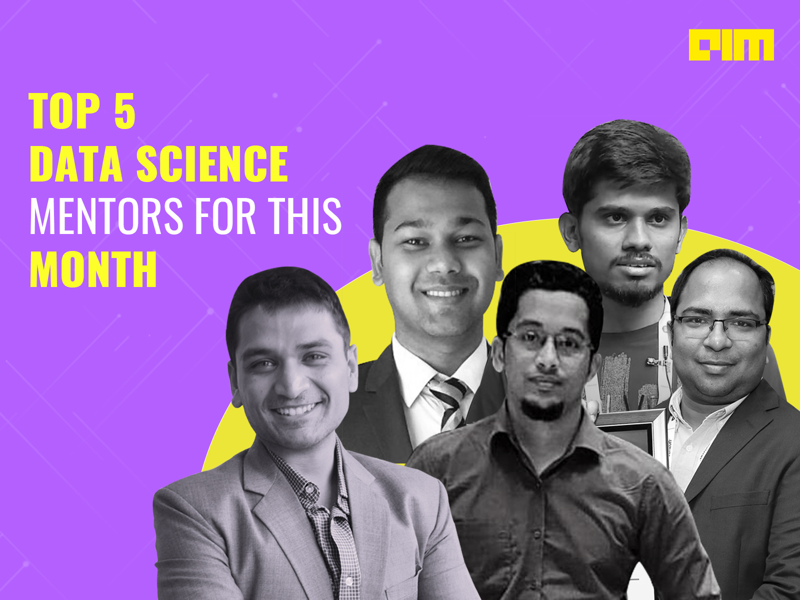 Top 5 Data Science Mentors For This Month