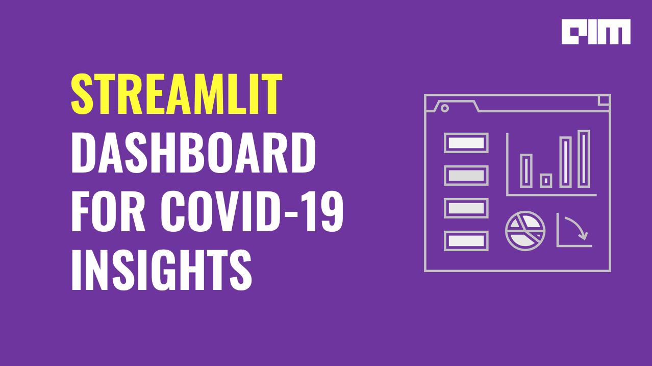 streamlit dashboard