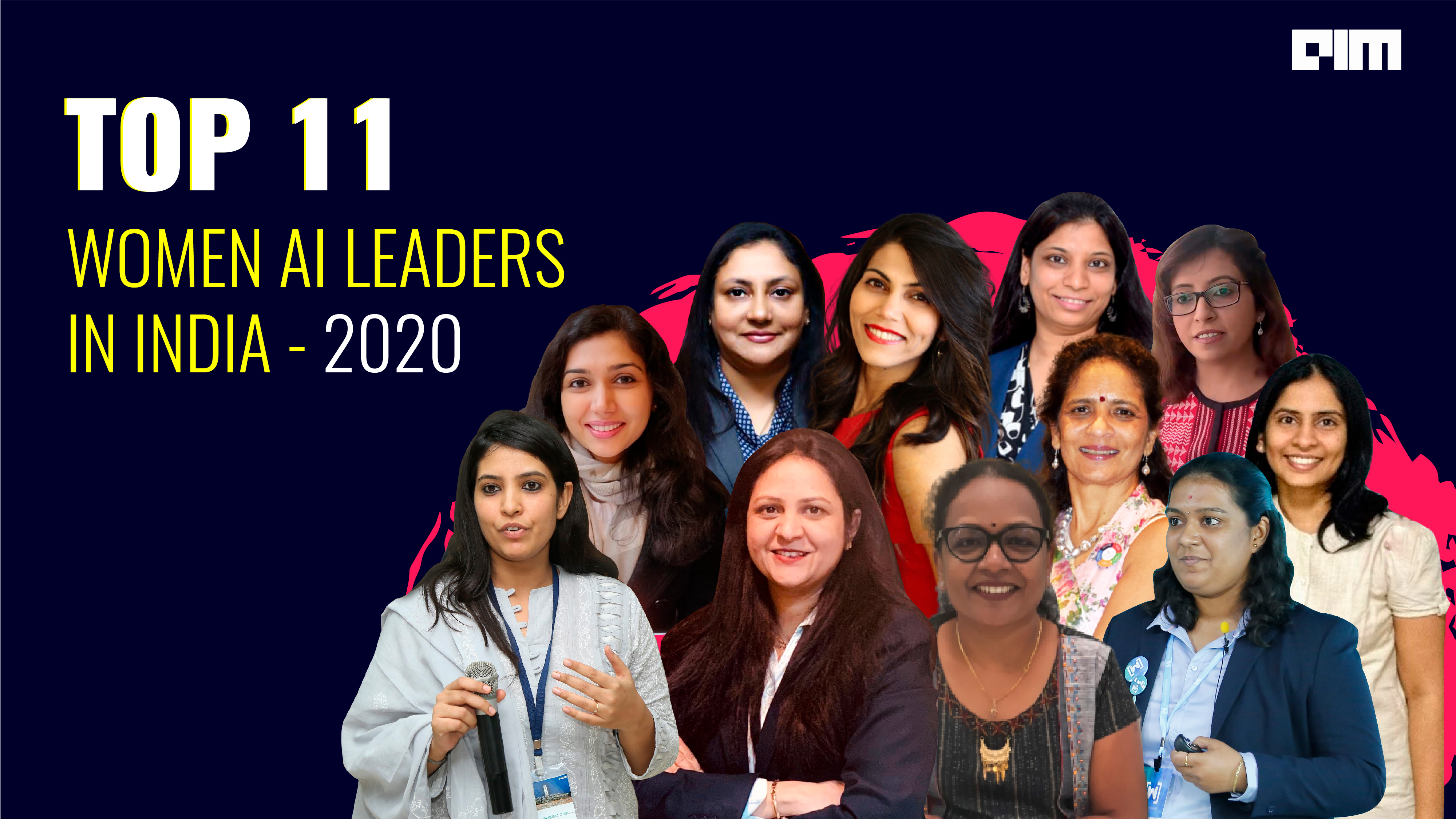 Top 11 Women AI Leaders In India — 2020