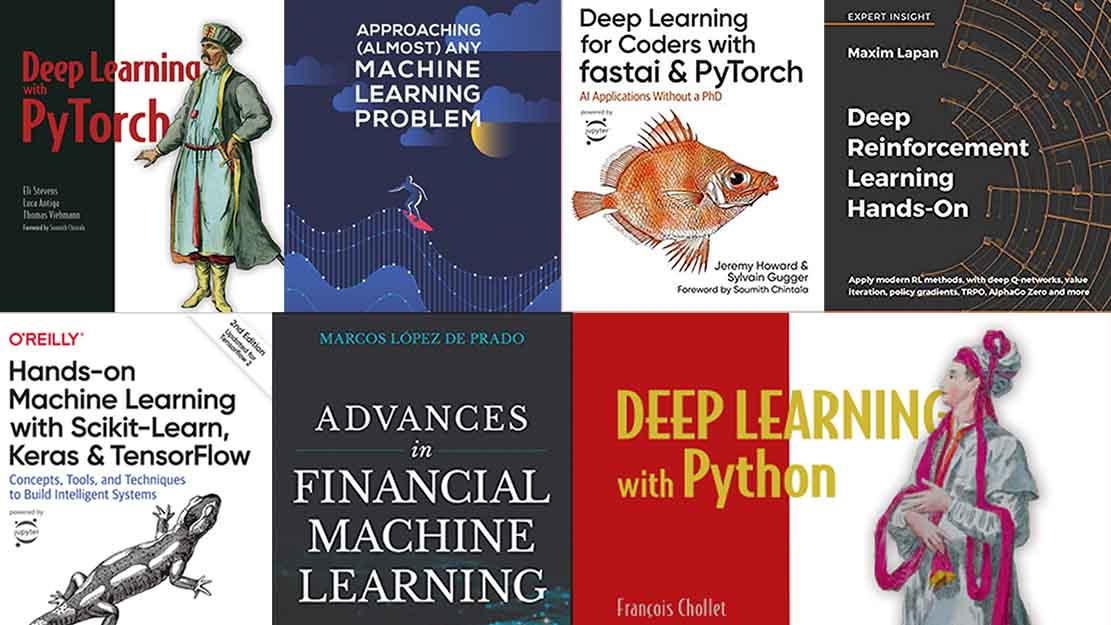 Top 8 Hands-On Books For Machine Learning Practitioners
