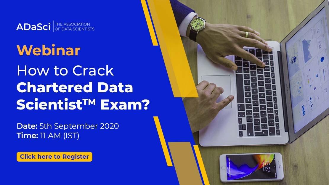 Chartered Data Scientist Webinar
