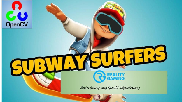Subway Surfer game Using Gestures