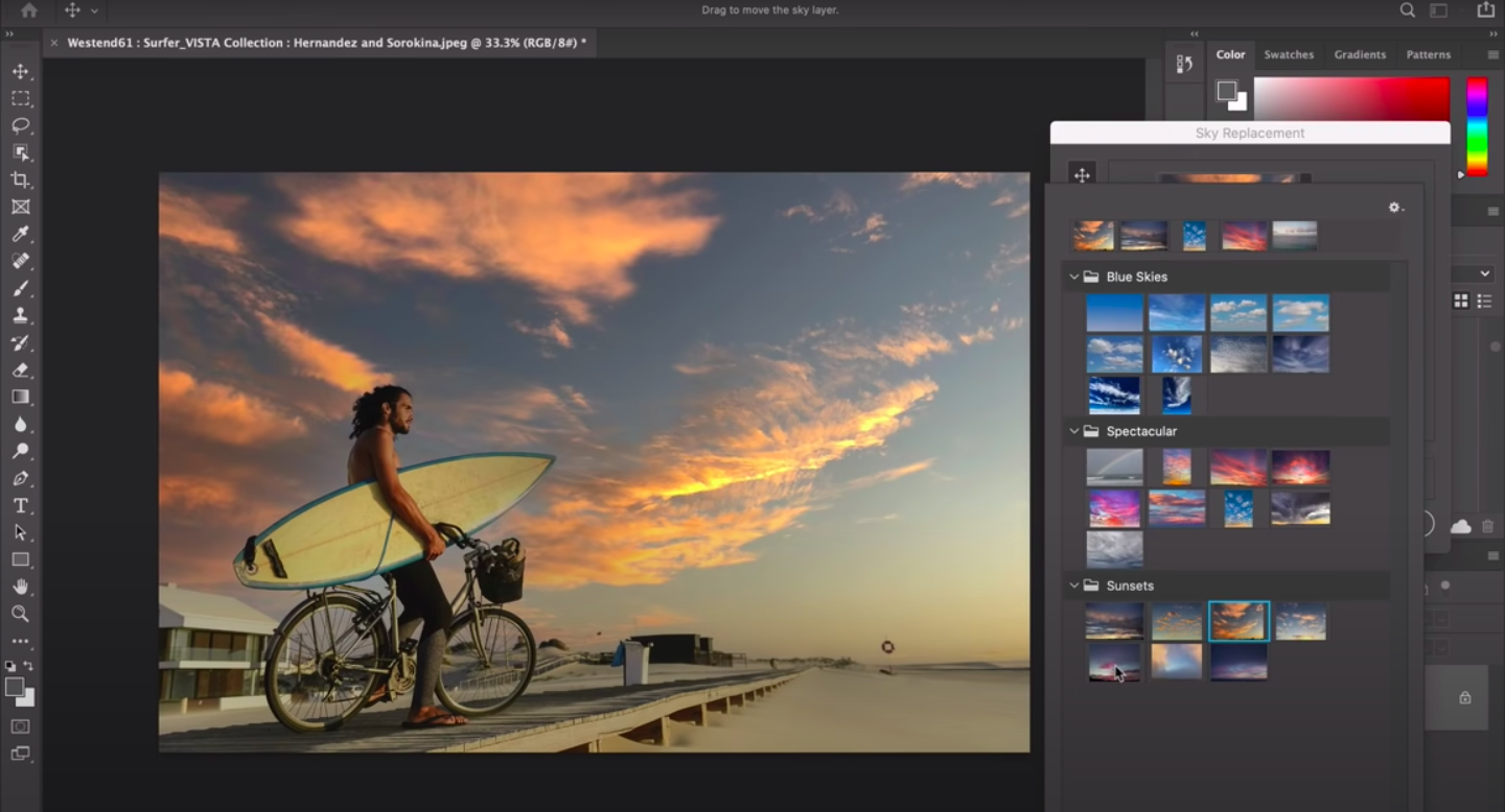 Adobe Introduces Ai Powered Sky Replacement Tool To Photoshop Edit your photos and images with adobe photoshop, the best photo and design editor. adobe introduces ai powered sky