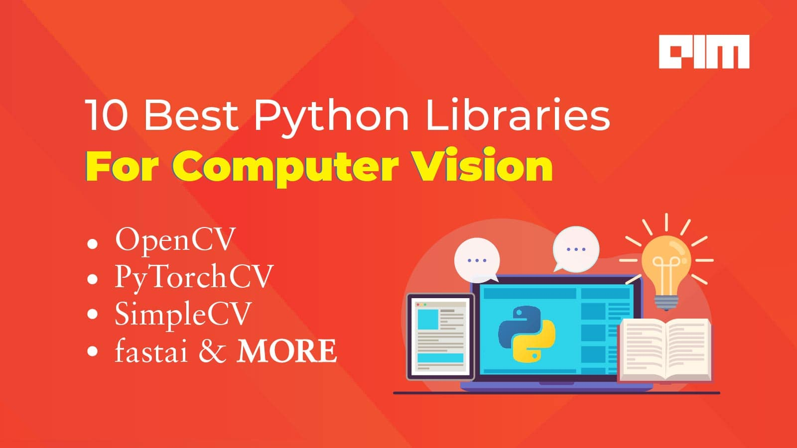 10 Best Python Libraries For Computer Vision Tasks