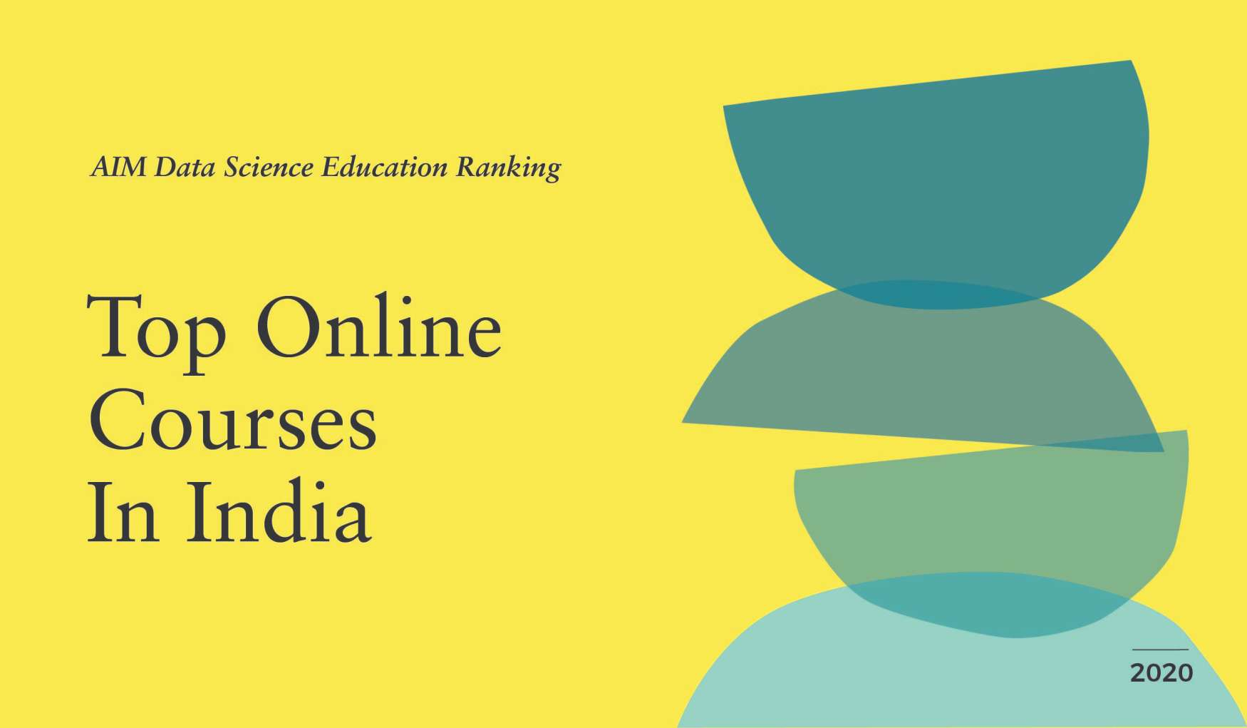 AIM Data Science Education Ranking 2020 | Top Online Courses In India