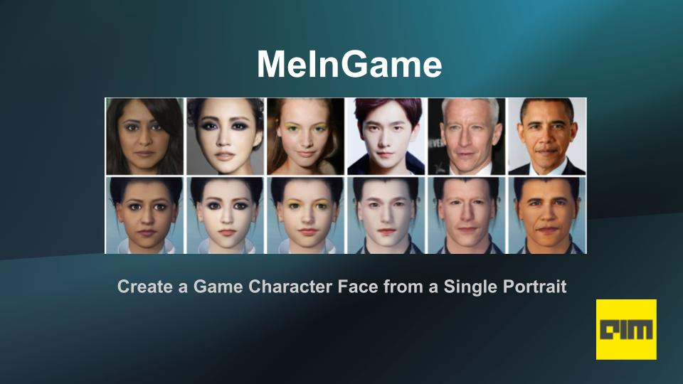 How To Create A Game Character Face Using Python & Deep Learning -