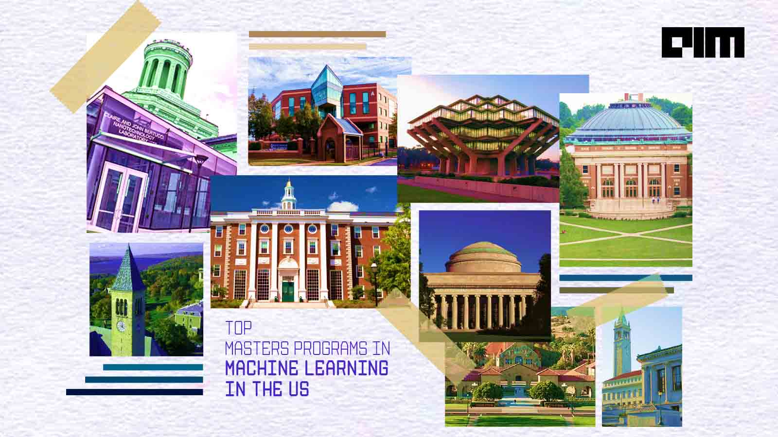 Top Master's Programs In Machine Learning In The US