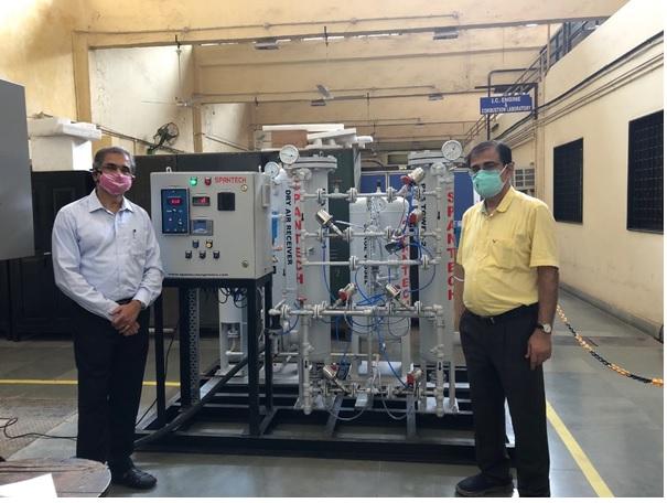 IIT Bombay's Atma-Nirbhar Bharat Approach To Generate Oxygen Amid Crisis