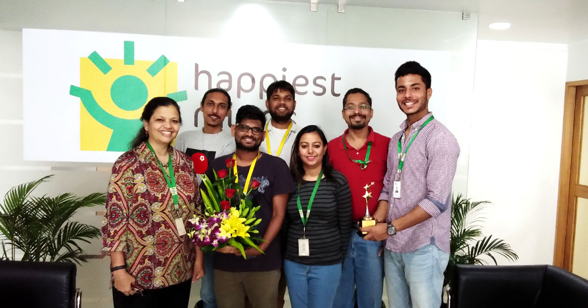 Data Science Hiring Process At Happiest Minds