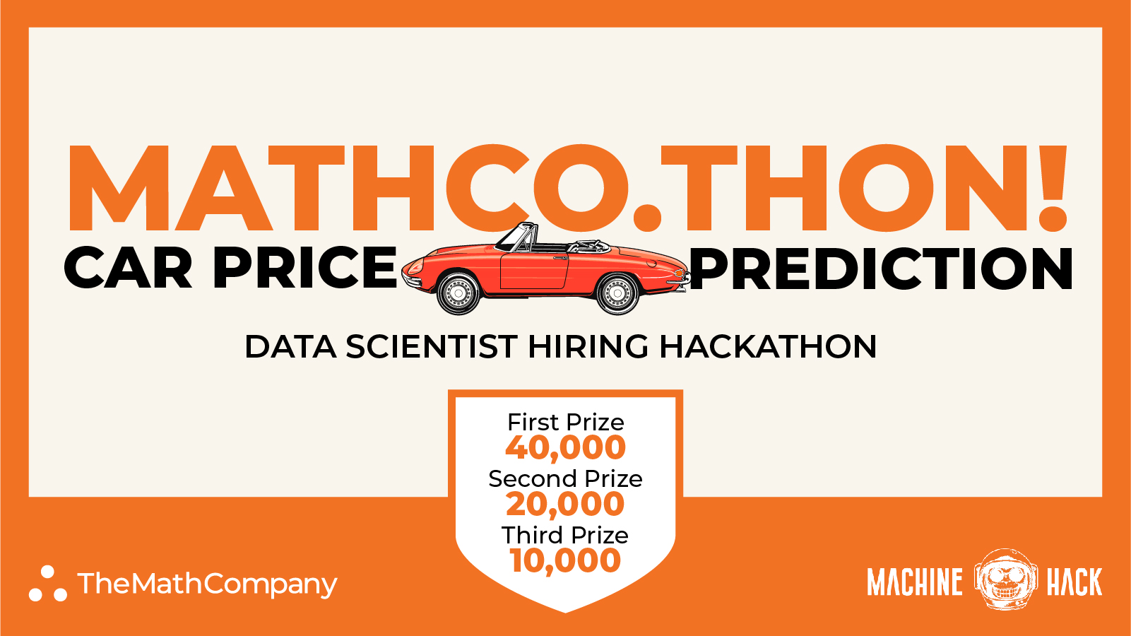 MATHCO.THON: The Data Scientist Hiring Hackathon by TheMathCompany